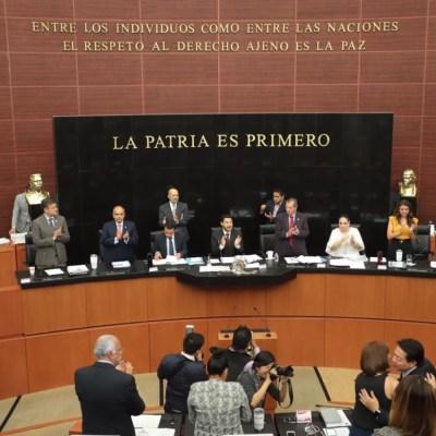 Congreso declara constitucional la reforma educativa