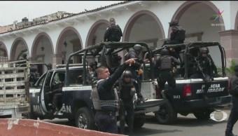 Foto: Refuerzan Seguridad Michoacán 28 Mayo 2019