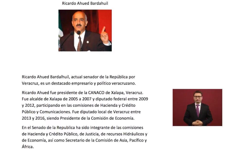 Foto: Semblanza de Ricardo Ahued, durante conferencia de AMLO, 27 de mayo de 2019, Ciudad de México