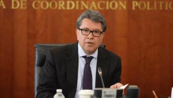 Foto: Ricardo Monreal, coordinador de Morena en el Senado