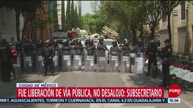 FOTO: Riña por liberación de vía pública, en la colonia Juárez
