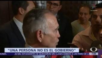 Romo minimiza salida de Germán Martínez del IMSS