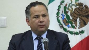 Foto: El titular de la Unidad de Inteligencia Financiera de la Secretaría de Hacienda, Santiago Nieto Castillo, mayo 13 de 2019 (Twitter: @SNietoCastillo)
