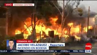 Foto: Incenido Avenida Central Nezahualcóyotl Remedios 7 de Mayo 2019