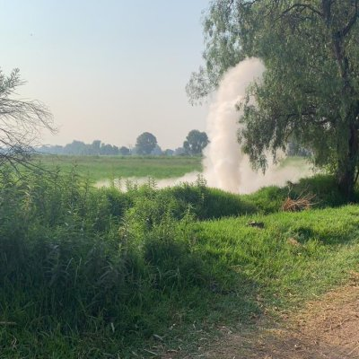 Se registra fuga de gas LP en Coronango, Puebla; descartan riesgo para pobladores