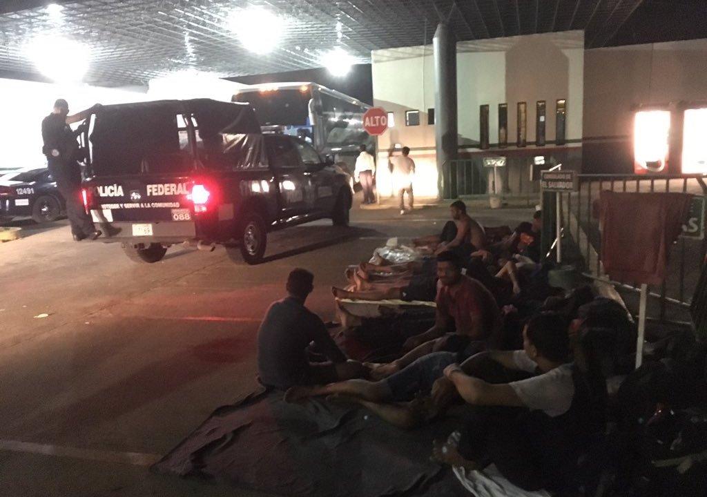 Foto Nuevos disturbios estación migratoria Siglo XXI en Tapachula 2 mayo 2019