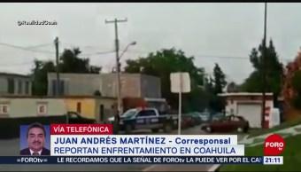 FOTO: Se reporta un enfrentamiento en Coahuila, 19 MAYO 2019