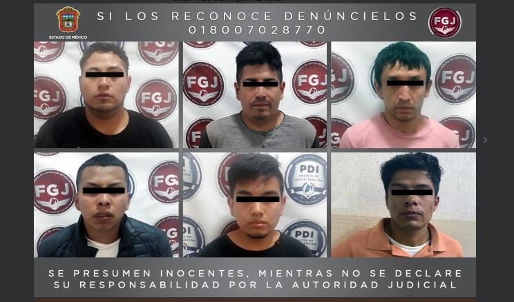 Foto: desarticulan a presunta banda de secuestradores en Naucalpan, 23 de mayo 2019. Twitter @FiscalEdomex