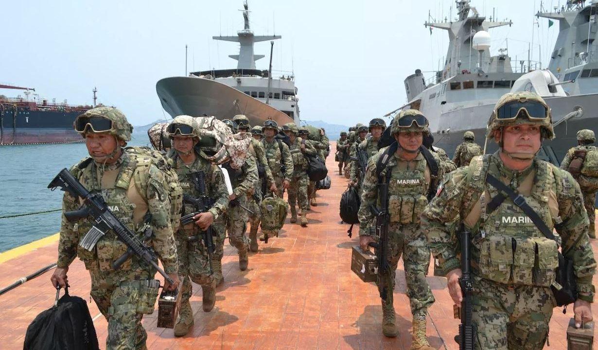 Foto: Más de 150 elementos de Infantería de Marina arribaron al puerto de Acapulco para reforzar las operaciones de seguridad en Guerrero, 25 mayo 2019