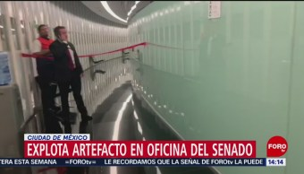 Foto: Senado endurece medidas de seguridad tras incidente