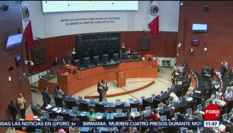 Senadores analizan la reforma educativa