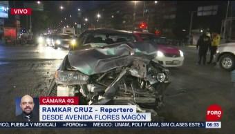 Servicio del Metrobús afectado por choque en la avenida Guerrero, CDMX
