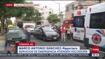 FOTO: Servicios de emergencia atienden accidente de tránsito, 24 MAYO 2019