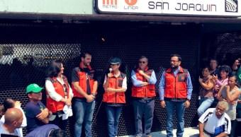 Foto: La jefa de Gobierno habló este sábado durante la jornada de tequio que se realizó en la estación del Metro San Joaquín de la alcaldía Miguel Hidalgo, el 18 de mayo de 2019 (Twitter @GobCDMX)