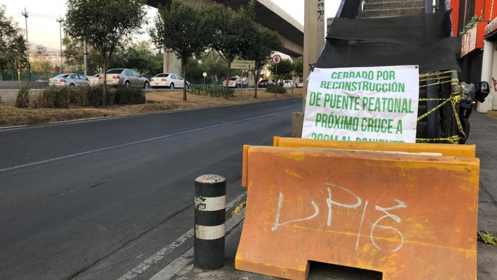 Foto Sheinbaum supervisa retiro de puente peatonal en Periférico 3 mayo 2019