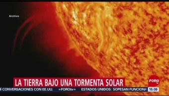 Foto: Sorpresiva tormenta solar afecta a la Tierra