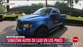 FOTO: Subastan autos de lujo en Los Pinos, 26 MAYO 2019