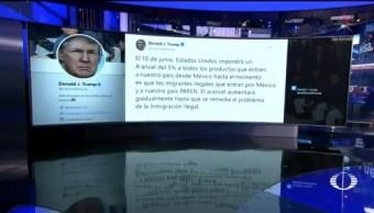 Foto: Trump Aranceles Productos Mexicanos Crisis Migratoria 30 Mayo 2019