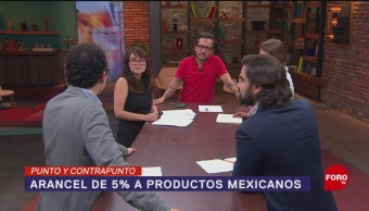 Foto: Trump Impuestos Aranceles Productos Mexicanos 31 Mayo 2019