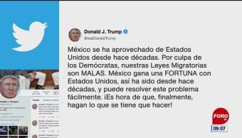 Trump: México se ha aprovechado de EU