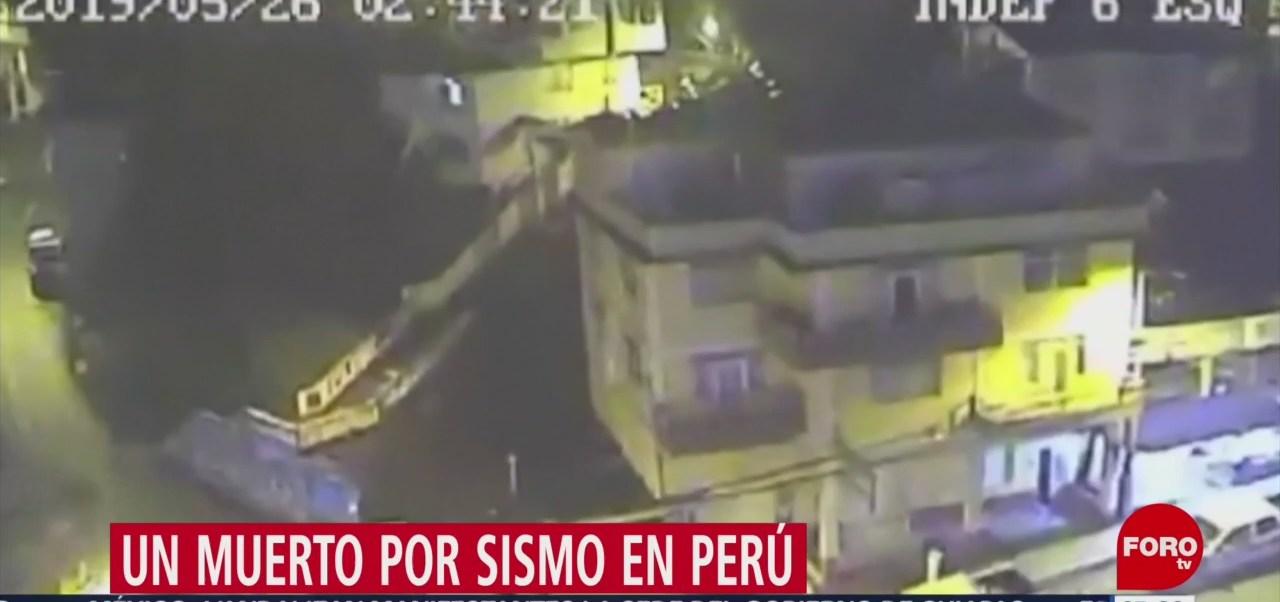 Un muerto por sismo de magnitud 8 en Perú