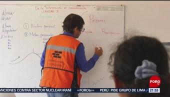 Foto: Unam Certifica Albañiles Interpretar Planos 3 de Mayo 2019