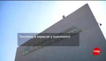 FOTO: UNAM desarrolla programa aeroespacial y automotriz, 25 MAYO 2019