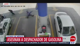 Foto: Video Matan Despachador Gasolinera Toluca 23 Mayo 2019