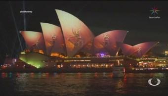 Foto: Vivid Festival Luces Sidney Australia 24 Mayo 2019