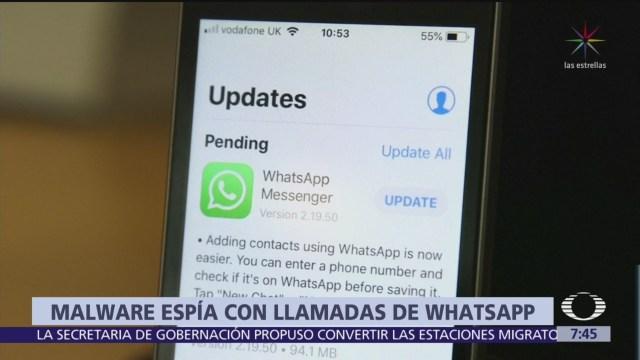 Whatsapp admite ataque de hackers a sus usuarios