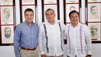 Chiapas, Tabasco y Veracruz