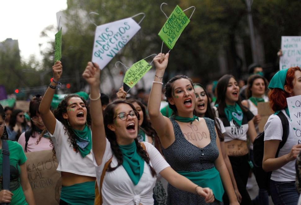 foto marcha aborto ciudad mexico
