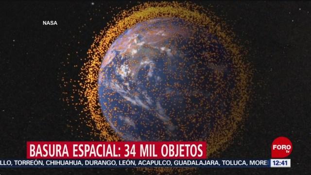 3 mil satélites forman parte de la basura espacial, dice NASA