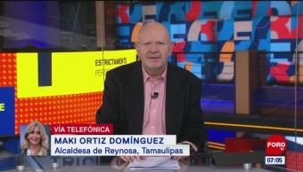 56 colonias resultaron afectadas por las lluvias en Reynosa, dice la alcaldesa Maki Ortiz