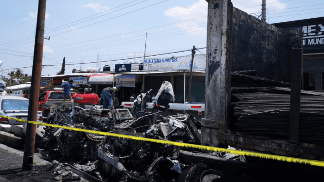 FOTO Accidente en Cuautla, Morelos, deja ya 9 muertos (Canal6tv 12 juio 2019 cuautla)