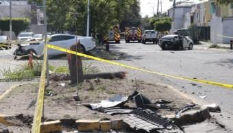 El futbolista mexicano, Joao Maleck, choca en Zapopan, Jalisco; hay dos muertos (Twitter: @ELOCCIDENTAL)