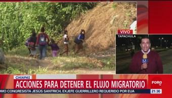 Foto: Acciones Detener Flujo Migratorio Chiapas 11 Junio 2019