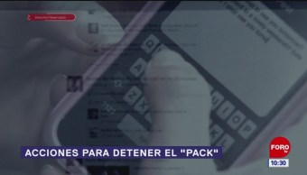 """Acciones para detener el """"pack"""""""