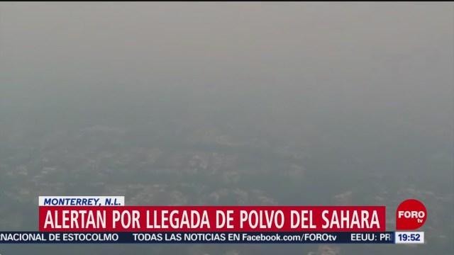 Foto: Polvo Del Sahara Monterrey NL 20 Junio 2019