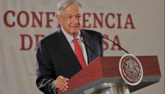 Foto: Andrés Manuel López Obrador,en su conferencia de prensa matutina, 12 junio 2019