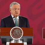 Foto: El presidente López Obrador en conferencia de prensa, 10 de junio del 2019, Ciudad de México