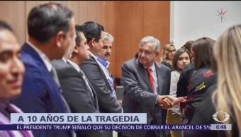 AMLO se reúne con padres de víctimas de la Guardería ABC