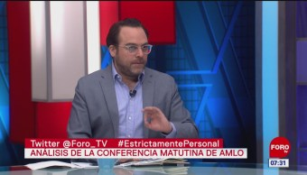 Análisis de las conferencias matutinas de AMLO