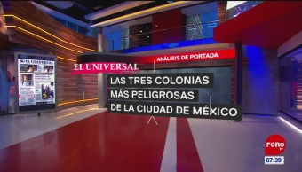 Análisis de las portadas nacionales e internacionales del 14 de junio del 2019