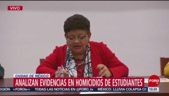 FOTO: Analizan evidencias en homicidios de estudiantes en CDMX