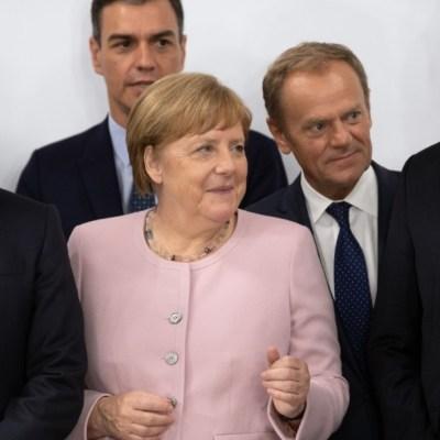 Merkel asegura encontrarse bien tras episodios de temblores