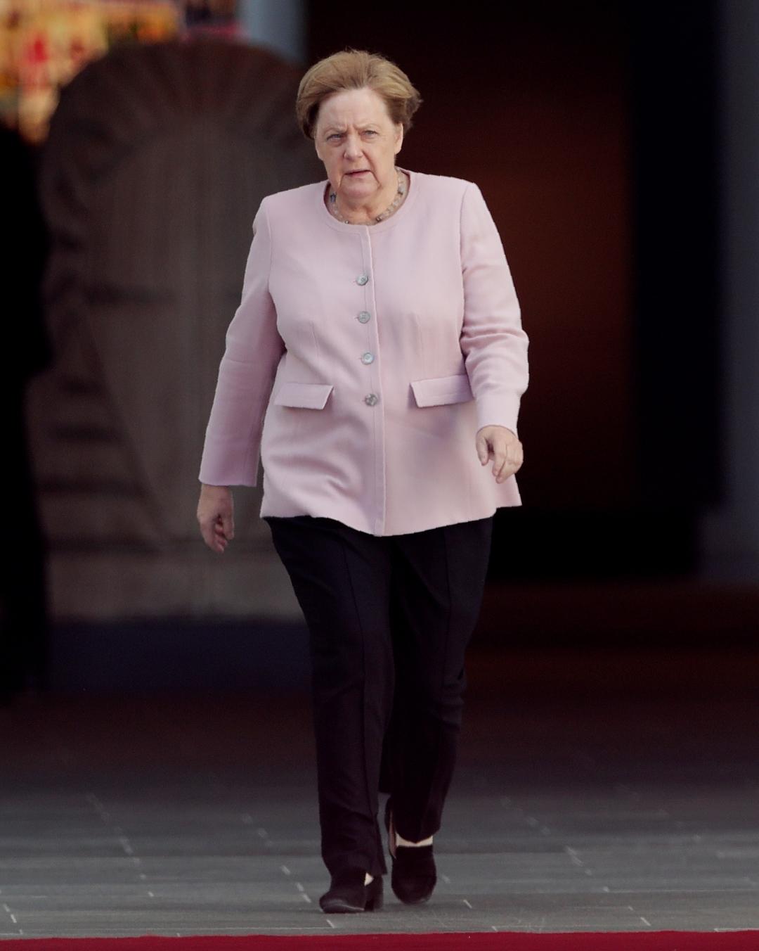 Foto: Angela Merkel, canciller de Alemania, 18 de junio de 2019, Berlín