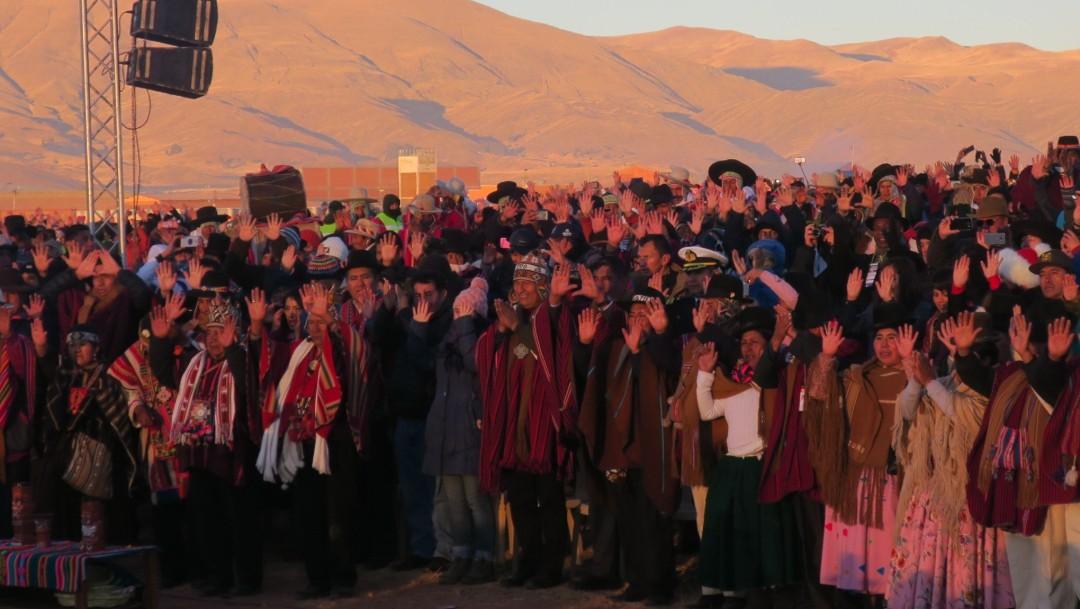 Foto: Bolivia conmemora el Año Nuevo Andino, Amazónico y del Chaco 5527, 21 de junio de 2019, Bolivia