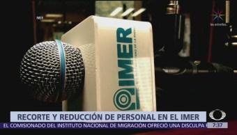 Anuncian nuevo recorte presupuestal en el IMER
