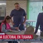 FOTO: Apertura de casillas en Tijuana registran retrasos, 2 Junio 2019